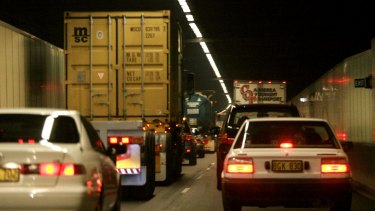 Roads officials say 'design issues' are responsible for lower air quality in the M5 East tunnels.