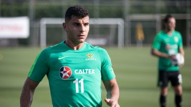 Socceroo Andrew Nabbout is a target for fromer club Melbourne Victory.