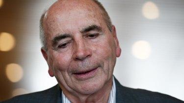 Former Reserve Bank Governor Bernie Fraser