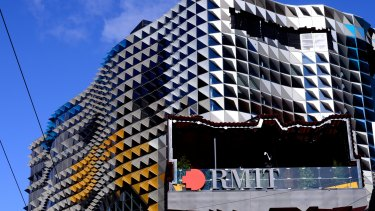 RMIT is asking permanent staff to take on work usually done by casuals.