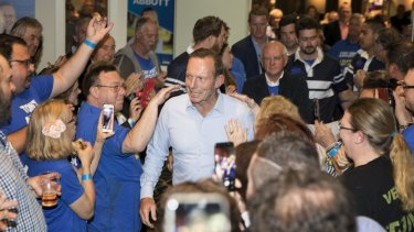 Former Prime Minister and Warringah Liberal candidate Tony Abbott conceded defeat on Saturday night.