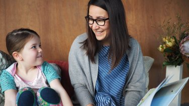 """Miyo Fallshaw, with her daughter Jala: """"Running a business is so much bloody hard work."""""""
