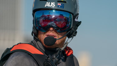 Australian helmsman Tom Slingsby is set to play the weighting game.
