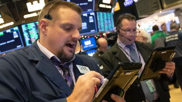Wall Street made it five-straight days of gains. .