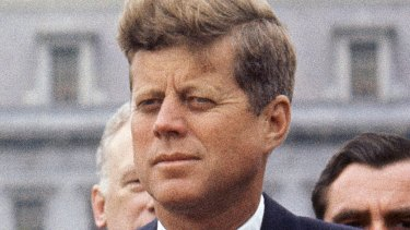 President John F. Kennedy. Details about Kennedy's medical condition were disclosed following his assassination.