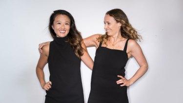 Vera Yan and Kati Santilli, founders of Nimble Activewear.