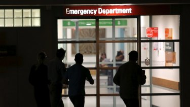 Some people are delaying going to emergency, making their condition worse.