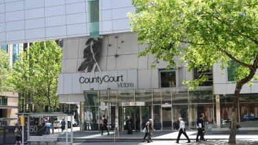 Melbourne's County Court will hear cases via video link, without judges, lawyers and defendants in the same room.