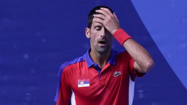 Tokyo has not been kind to Novak Djokovic.