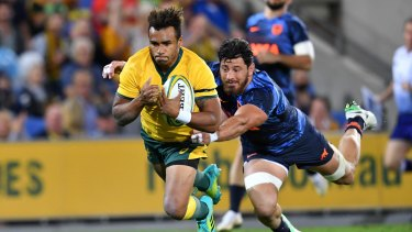 Body blow: Will Genia is poised to play in Japan after the World Cup.