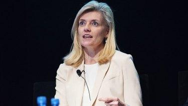 AMP chairman Catherine Brenner is under pressure.