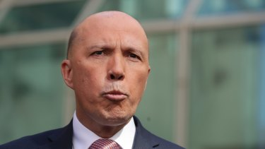 Home Affairs Minister Peter Dutton faces another attempt to refer his eligibility to the High Court.