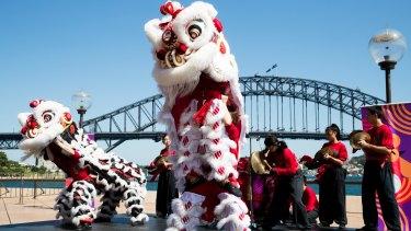 The president of the Chinese Australian Forum, Jason Yat-sen Li, said Lunar New Year was a part of Australia's traditions.