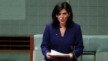Former Liberal MP Julia Banks is currently weighing up her political future.