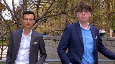 Mark McDonald and Josiah Humphrey of Appster.
