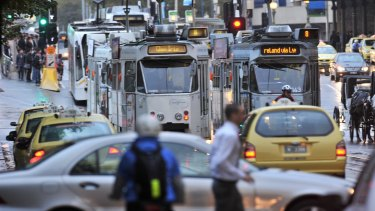 A new transport plan for the CBD aims to alleviate congestion.