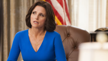 Julia Louis-Dreyfus stars in Veep.
