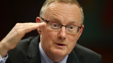 Flat out ... RBA governor Philip Lowe.