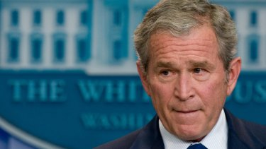 President George W Bush went into Iraq at the urging of Dick Cheney and Donald Rumsfeld.