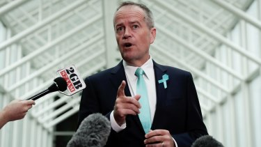 Labor leader Bill Shorten will come under pressure to reveal the opposition's position on company tax cuts.