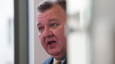 Liberal MP Craig Kelly lost his cool on Sunday night after a messy day fighting to save his career.