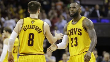 Matthew Dellavedova starred alongside  LeBron James in the Cleveland Cavaliers' NBA championship season in 2015-16.