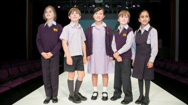 Wesley College launched a new uniform in 2016.