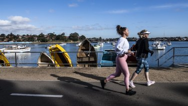 The Bay Run in Sydney's inner west has been highly popular.