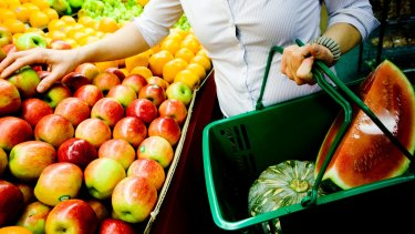Fibre, fruit and vegetables are best for a healthy gut.