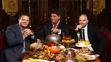 MasterChef Australia judges Gary Mehigan, Matt Preston and George Calombaris.