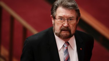 Derryn Hinch has returned to broadcasting after his stint as an Australian senator.