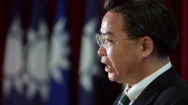 Taiwanese Foreign Minister Joseph Wu.