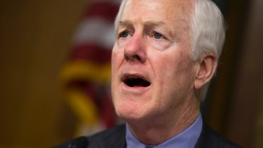 We're not going to turn on our own. Senator John Cornyn.