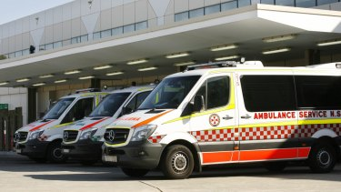 Idling ambulances were highlighted as one of the issues.