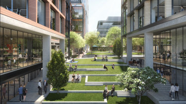 Macquarie Exchange will convert a 15,620 sqm site into 83,368 sqm of office and retail space.
