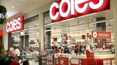 Sales at Coles for the third quarter could be the best in a decade thanks to panic buying.
