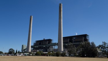 Liddell Power Station in the Hunter Valley.