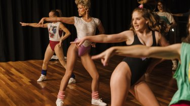 Just do it (like these 80s-loving exercisers at Sydney's 'Retrosweat')... for three hours a week.