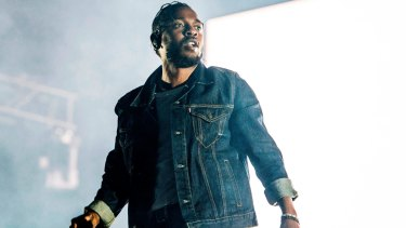 Kendrick Lamar, pictured in Quebec earlier this year, won over Sydney fans.