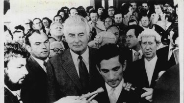 November 11, 1975 – the day Gough Whitlam was dismissed as prime minister.