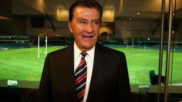Loyalty: Politis ensured the Roosters would not defect to Super League.