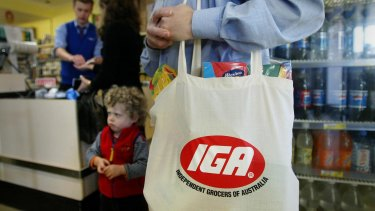 Metcash supplies the 1600 IGA stores across the country.