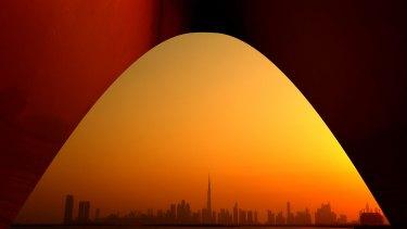 Dubai in the United Arab Emirates.