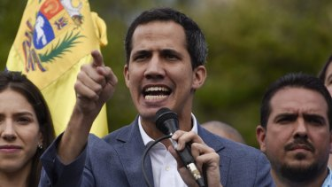 Juan Guaido Canberra has been recognised by Canberra as the interim president of Venezuela.