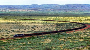 BHP and Rio are running autonomous trains on their iron ore railways.