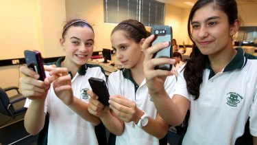 Using mobile phones in the classroom isn't bad karma.