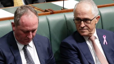 February 2018: It was the then Deputy Prime Minister Barnaby Joyce's extra-marital affair with a staffer that led to then-Prime Minister Turnbull instituting a ban on ministers having sexual relationships with their staff.