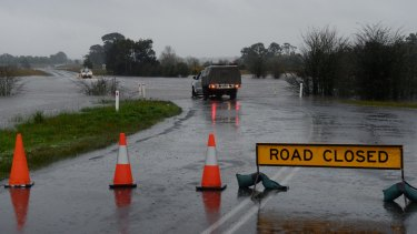The Bureau of Meteorology has issued severe weather warnings for much of northern Victoria.