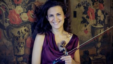 Italian violinist Lorenza Borrani.