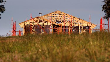 New dwelling approvals were down sharply in December.